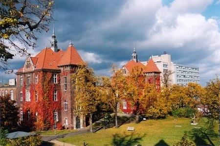 Клиника немецкого красного креста в Берлине